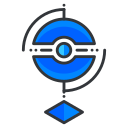 boy, go, pokemon, reality, virtual, game, play icon