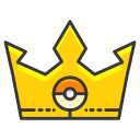 crown, game, go, play, pokemon icon