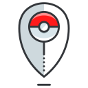 game, go, location, play, pokemon icon