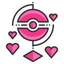 game, go, love, play, pokemon, reality, virtual icon