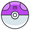 ball, game, go, master, play, pokemon icon