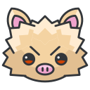 go, mankey, pokemon, game, play icon