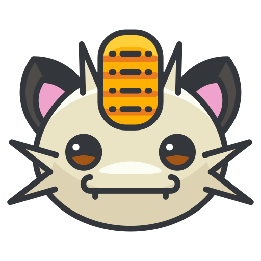 game, go, meowth, play, pokemon icon