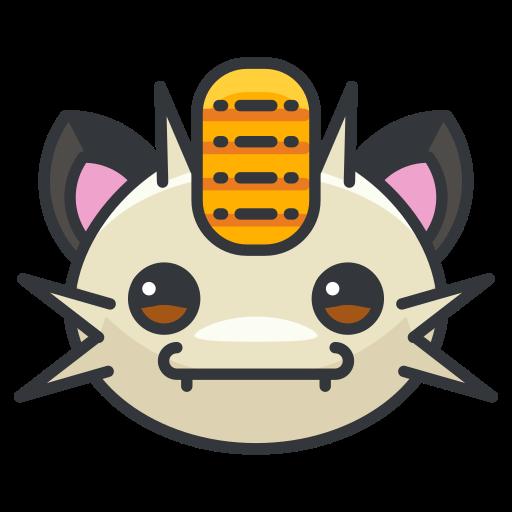 game, go, meowth, play, pokemon icon