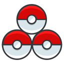 game, go, play, pokeballs, pokemon icon
