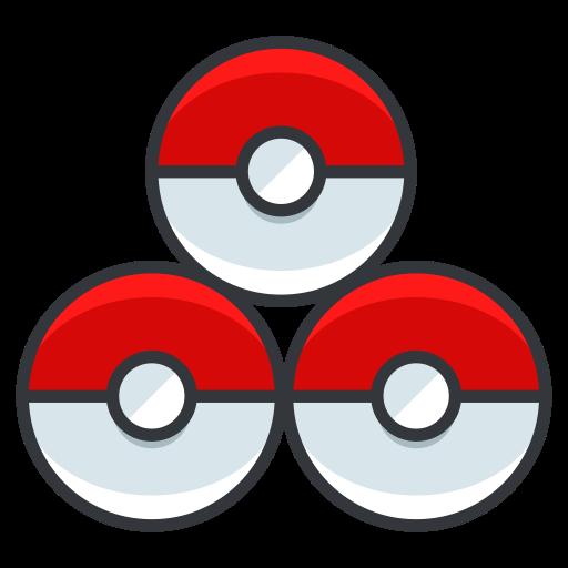 game, go, play, pokeballs, pokemon icon