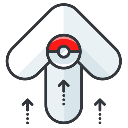 arrow, game, go, play, pokemon icon