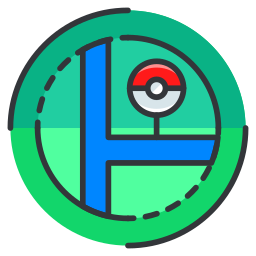 game, go, location, map, play, pokemon icon
