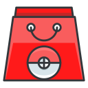 bag, game, go, play, pokemon, shopping icon