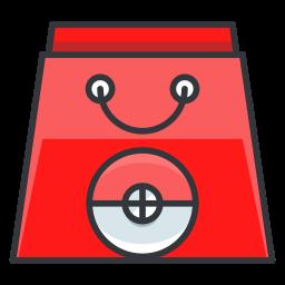 bag, game, go, play, pokemon, shopping icon