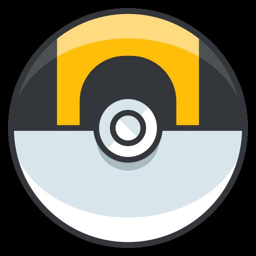 ball, game, go, play, pokemon, ultra icon