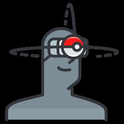 game, go, play, pokemon, reality, virtual icon