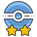game, go, poke, pokemon, star, trainer, two icon