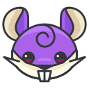 game, go, play, pokemon, rattata icon