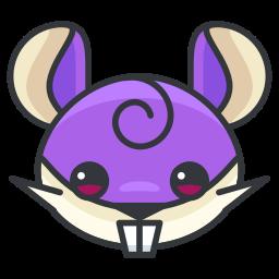 game, go, play, pokemon, rattata icon