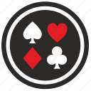 blackjack, casino, gamble, poker icon