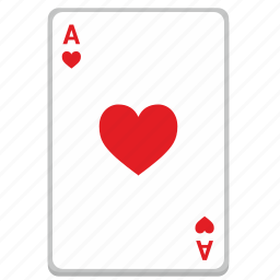 ace, card, casino, gambling, poker icon