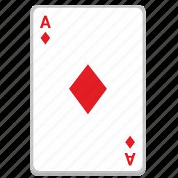 ace, card, casino, gambling, poker icon