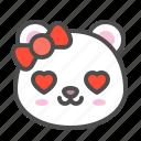 arctic, avatar, bear, cute, face, love, polar