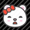 arctic, avatar, bear, bored, cute, face, polar