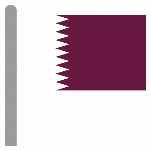 doha, east, middle, qat, qatar, qatari icon