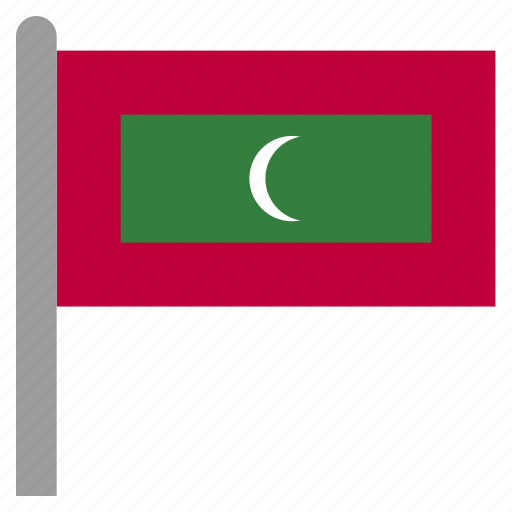 asia, asian, maldives, maldivian, mdv icon