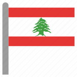 east, lbn, lebanese, lebanon, middle icon