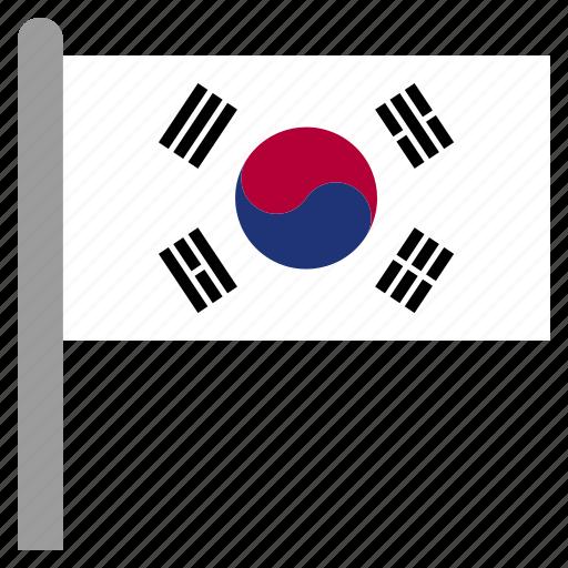 asia, asian, east, kor, korea, korean, south icon