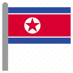 korea, korean, north, prk icon