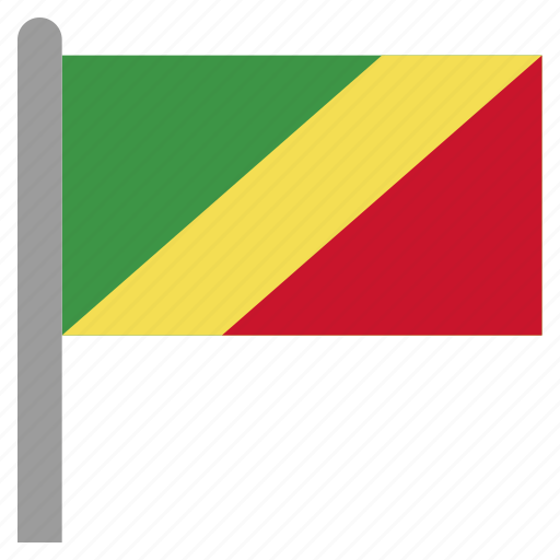 african, cfa, cog, congo, republic icon