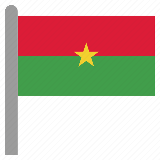 africa, bfa, burkina, faso, ouagadougou, west icon