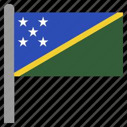 honiara, islands, oceania, slb, solomon icon