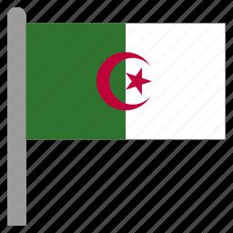 africa, african, algeria, algerian, arabic, dza, north icon