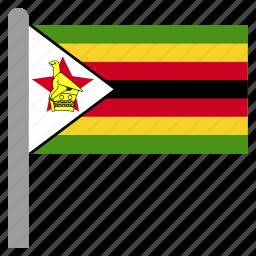 africa, african, zimbabwe, zwe icon
