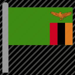 africa, african, zambia, zambian, zmb icon
