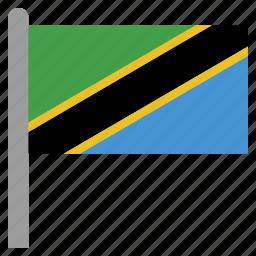 africa, african, tanzania, tanzanian, tza icon