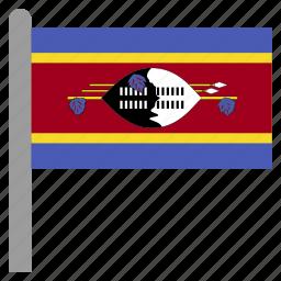 africa, african, swazi, swaziland, swz icon