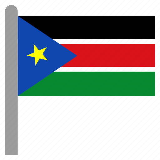 africa, south, ssd, sudan, sudanese icon