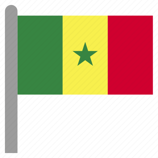 africa, african, dakar, sen, senegal icon