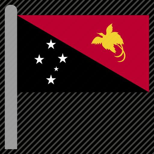 guinea, guinean, new, oceania, papua icon