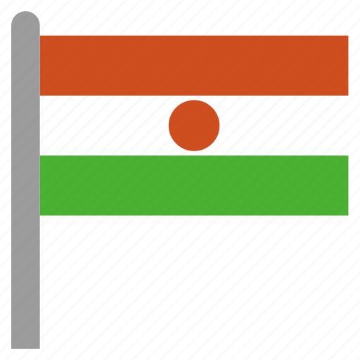 africa, african, ner, niger icon