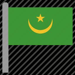 africa, african, mauritania, mauritanian, mrt icon