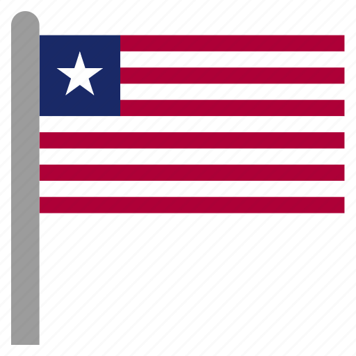africa, lbr, liberia, liberian, west icon