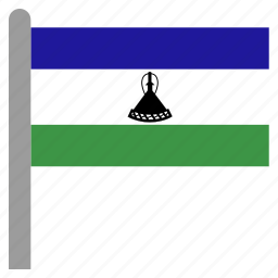 africa, african, lesotho, lso, southern icon