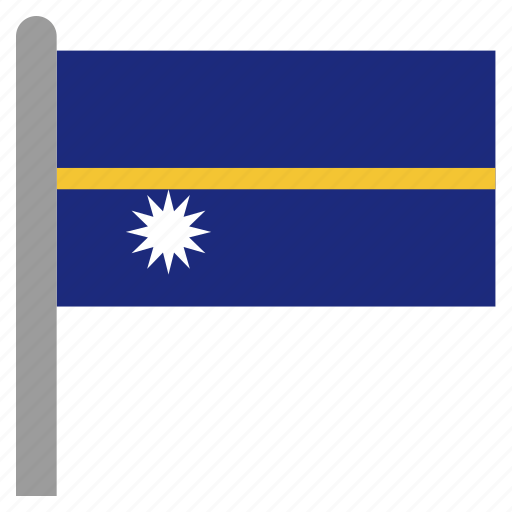 district, nauru, nru, oceania, yaren icon
