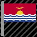 kir, kiribati, kiribatian, oceania icon