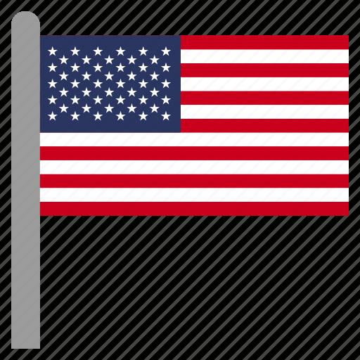 america, american, states, united, us, usa icon