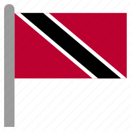 and, caribbean, tobago, trinidad, tto icon