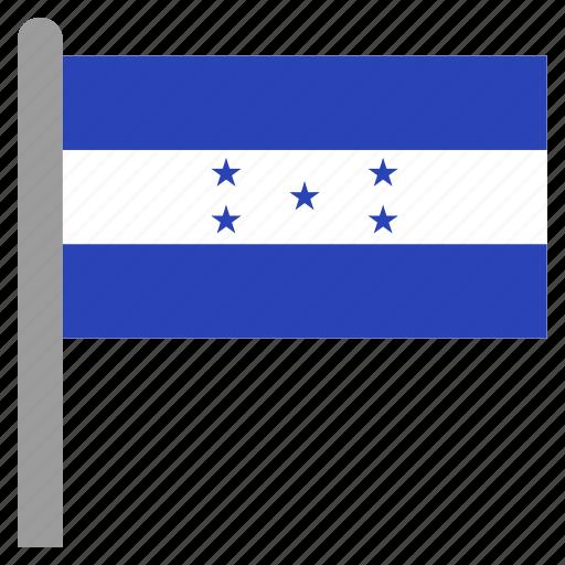 america, central, hnd, honduran, honduras icon