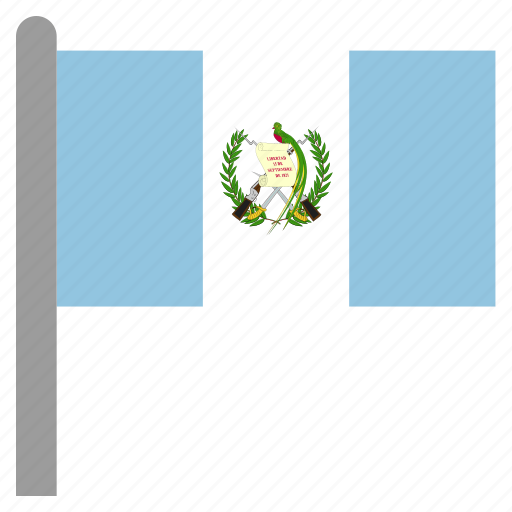 america, central, gtm, guatemala, guatemalan icon